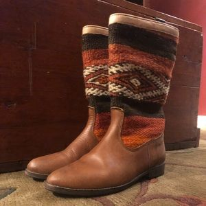 Fashion boots that could work in many ways.